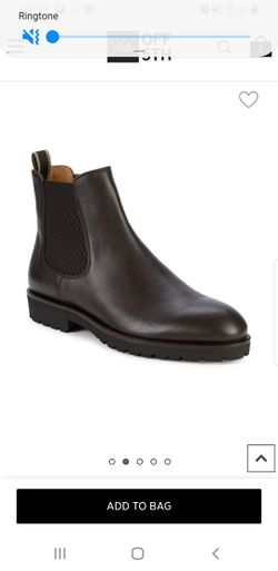 $445 Hugo Boss Eden leather Chelsea Boots size 9.5 men for Sale in Yardley,  PA