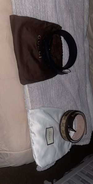 Authentic Gucci belts ! for Sale in Lake Elsinore, CA