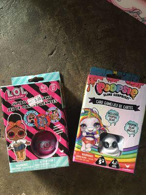 New Card Games - LOL Surprise :: Poopsie Slime for Sale in Spring, TX