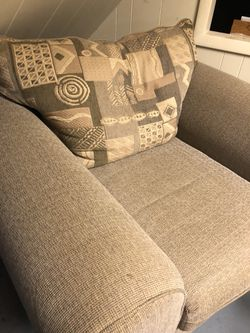 Couch and matching chair for Sale in Pittsburgh,  PA