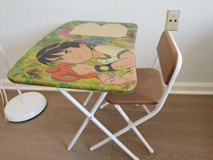 Kids table and chair for Sale in Arlington, VA
