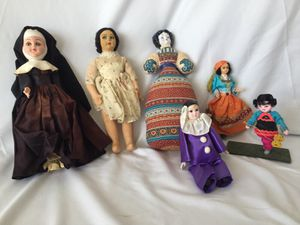 Lot of Small Collectible Dolls for Sale in Miami, FL