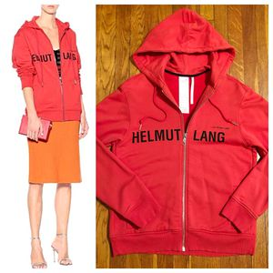 """New! Helmet Lang hoodie paid $495 size authentic! Excellent condition. Style """"Red Champaign"""" print hoodie. Fabric 100% cotton this is a unisex hoodie for Sale in Washington, DC"""