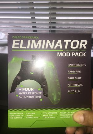 Xbox one mod pack eliminator brand new with box for Sale in Bellevue, WA