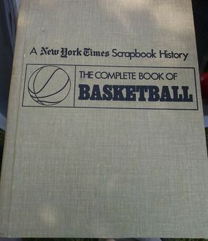 Basketball book history New york time for Sale in Manchester, CT