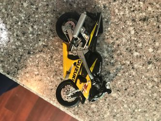 Toy Suzuki motorcycle (trade) for Sale in Rockville,  MD