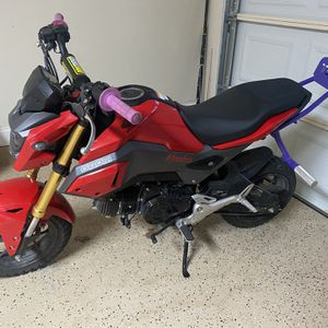 2017 Honda Grom With Few Add Ons for Sale in Hurst, TX