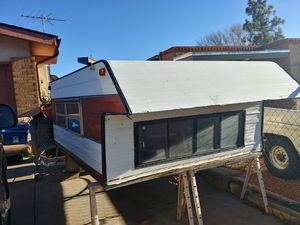 Long Bed Truck Camper Shell. for Sale in Santa Fe, NM