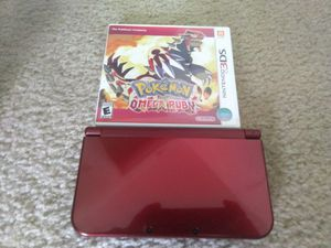 Nintendo 3DS XL + Pokemon Omega Ruby for Sale in St. Louis, MO