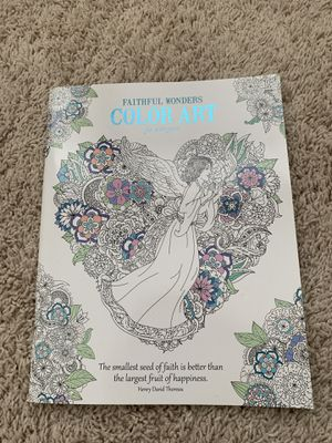 Color Art Book with inspirational quotes for Sale in Durham, NC