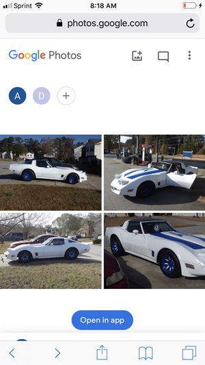 81 Chevy corvette. Body and transmission. Needs a motor. Will take $3300 or trade for a Yukon xl or Chevy suburban for Sale in Jonesboro, GA