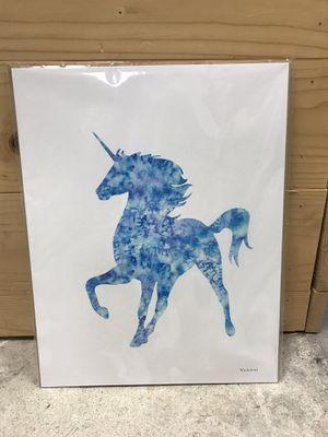 Unicorn art Decor kids children's room nursery girls for Sale in Lake Forest, CA