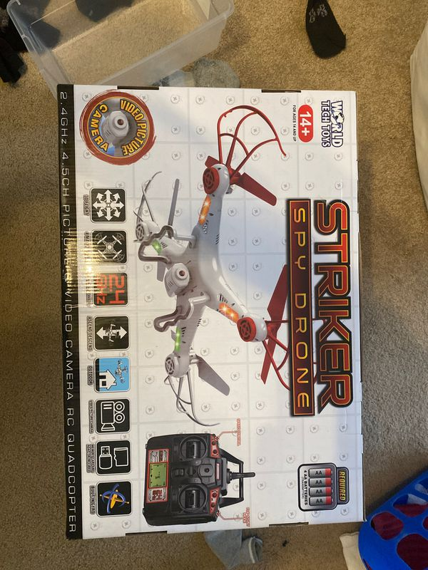 Drone with video and camera