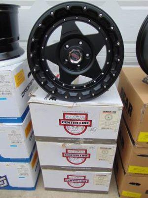 New 20X10 Centerline Matte Black Rims *5X150 TUNDRA* *-25MM Offset* for Sale in Aurora, CO
