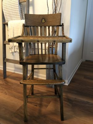 """Antique High Chair """"39""""Inches Tall for Sale in Ashburn, VA"""