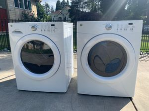KENMORE , Washer and dryer $350 for both for Sale in Bellevue, WA