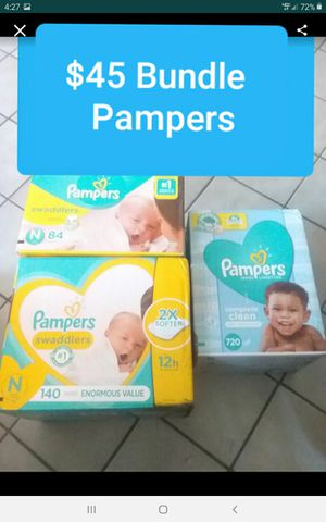 Pampers bundle $45 p/u/Fontana only chk other offers on page I DO BUNDLE for Sale in Fontana, CA
