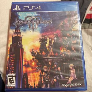 Kingdom Hearts 3-PS4 for Sale in Marysville, WA
