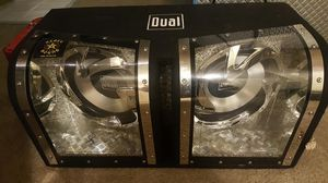 Dual subs and amplifier for Sale in Portland, OR