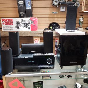 Harman/Kardon Audio/Video Receiver and Home Theater Speaker System for Sale in Aurora, CO
