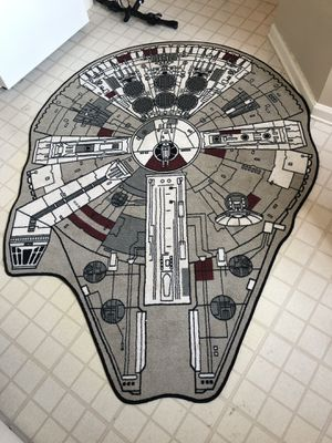Millennium Falcon Rug for Sale in Arlington, VA