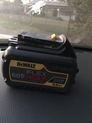 DeWalt FlexVolt 6Ah 60V battery modelo 2019 for Sale in Elk Grove, CA