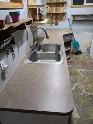Laminate countertops, sink, base cabinets for Sale in Portland, OR