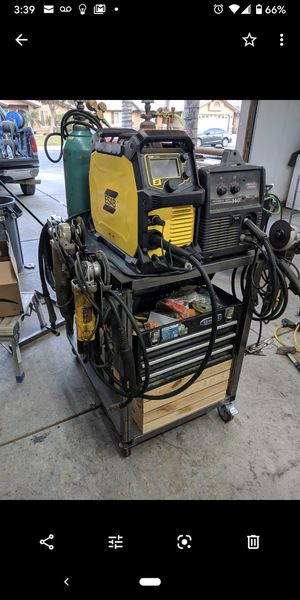 Esab 215 mig Tig stick for Sale in Shafter, CA