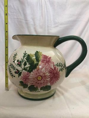 Waverly Garden Room ceramic pot-belly pitcher for Sale in Tampa, FL