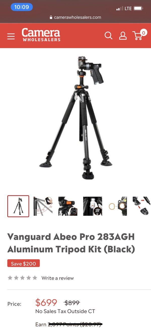 Vanguard Aveo pro tripod