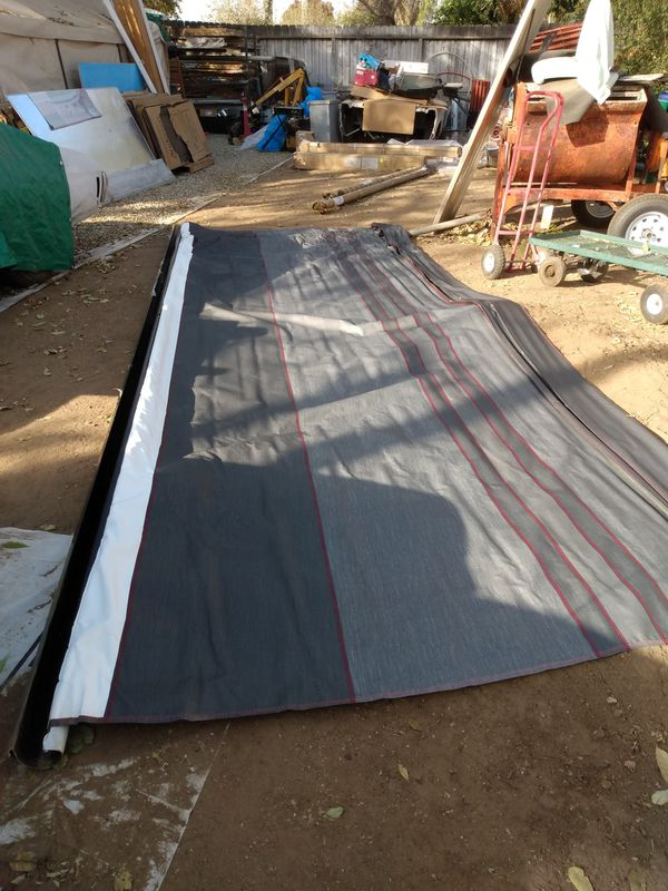 New motorhome travel trailer awnings