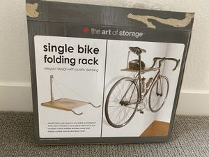 Single Bike Folding Rack $10 for Sale in Henderson, NV