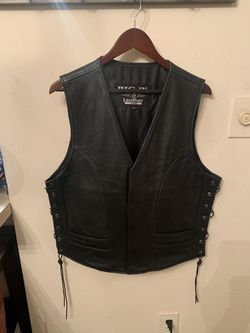 Leather motorcycle vest for Sale in Peachtree Corners,  GA
