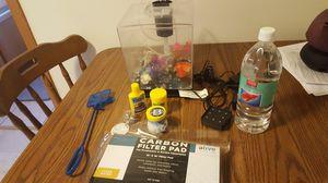 Beta fish aquarium and supplies for Sale in Madison, WI