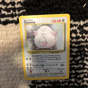 Chansey 3/102 Holo 1999 Wizards for Sale in Meriden, CT