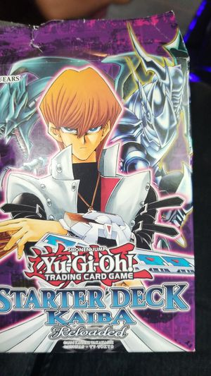 Starter Deck Kaiba Reloaded YuGiOh trading card game for Sale, used for sale  Tacoma, WA