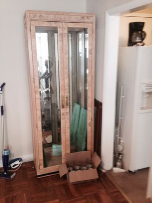 Two Curio Cabinets with glass shelves for Sale in Fort Washington, MD