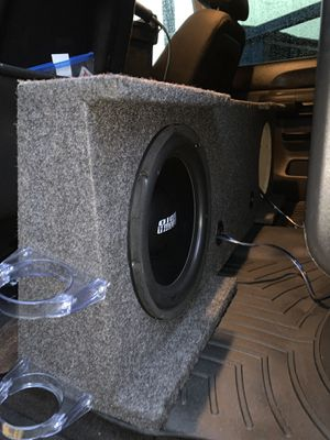 Sundown audio 12s for Sale in Friendswood, TX