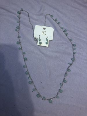 Charming Charlie necklace and earring set for Sale in Austin, TX