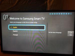"""Samsung 40"""" 4K Smart TV for Sale in Crownsville, MD"""