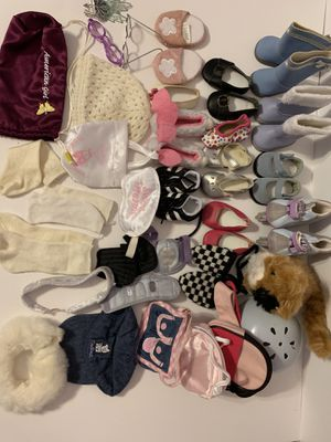 american girl doll shoes and accessories for Sale in Suwanee, GA