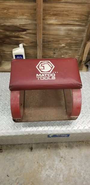 Matco rolling seat for Sale in Lexington, NC