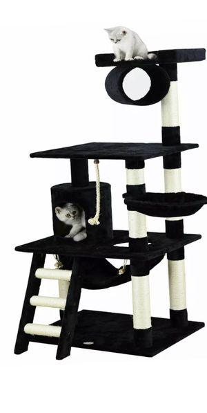 Go Pet Club F67 Cat Condo 62 inch Black (F70) for Sale in Bellevue, WA
