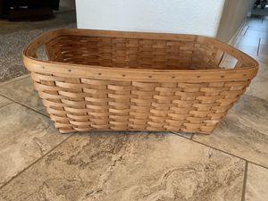 Longaberger Laundry and Gathering Basket 1989 for Sale in Phoenix, AZ