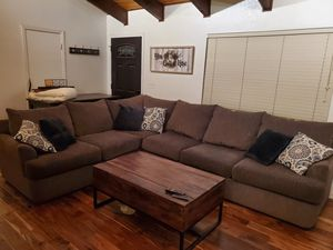 Sectional couch $400 obo for Sale in Running Springs, CA
