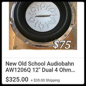 Speaker for Sale in Sacramento, CA