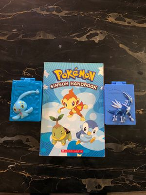 Pokemon gen 1 book and card containers for Sale in Irwindale, CA