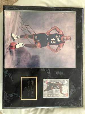 Shaquille O'Neal autographed plaque for Sale in Sun City, AZ