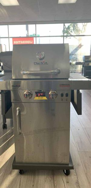 Brand New Stainless Steel Char-Broil BBQ Grill! PVEA for Sale in Houston, TX