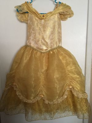 Vestido de princesa bella original de Disney for Sale in Garden Grove, CA